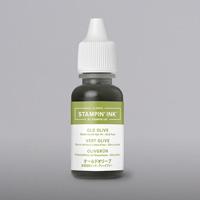 olive green ink