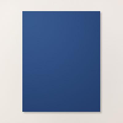 rich blue paper