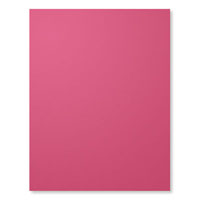 Rose Red 8-1/2 X 11 Cardstock