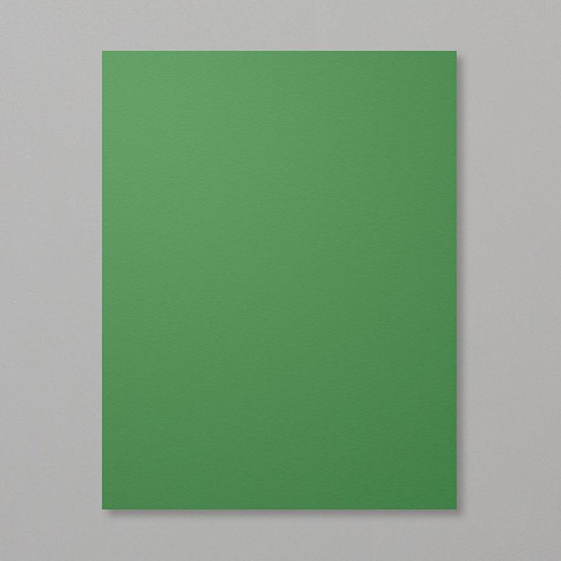 deep green cardstock paper