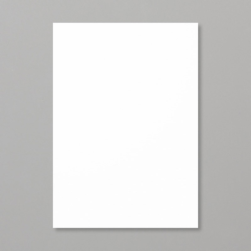 Shimmery White A4 Cardstock