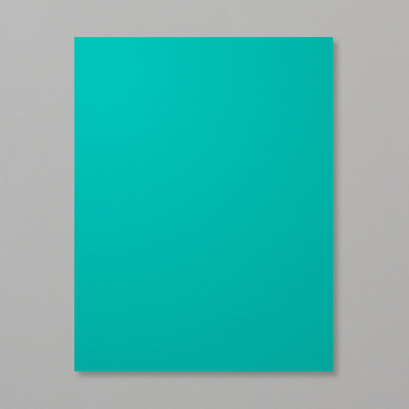 bright teal paper