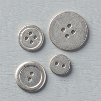 Silver Basic Metal Buttons by Stampin' Up!