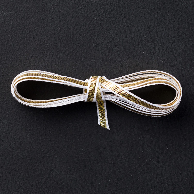 "Gold 1/8"" (3.2 Mm) Ribbon"