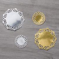 Metallic Foil Doilies