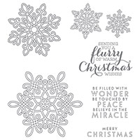 Flurry Of Wishes Photopolymer Stamp Set