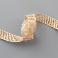 flat burlap ribbon