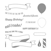 birthday celebration stamps