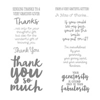 thank you message stamp set