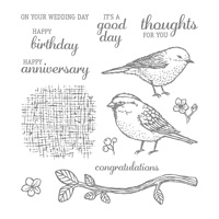 birds wishes stamps