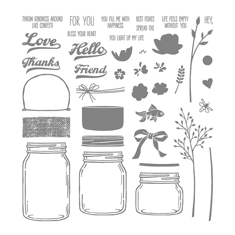 Jars of Love Stamp Set