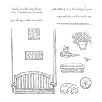 porch swing stamp set