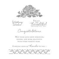 floral message stamps
