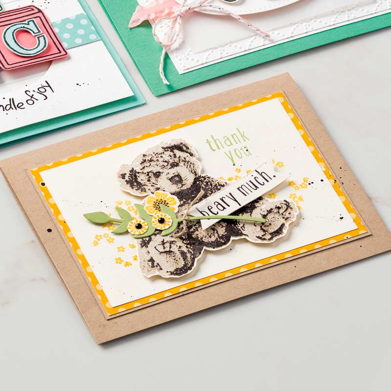 Baby Bear Photopolymer Stamp Set