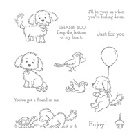 puppy stamp set