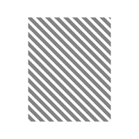 Diagonal Stripe Clear-Mount Stamp