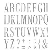letters alphabet stamps