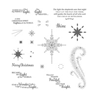 christmas star stamp set