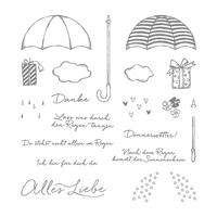 Donnerwetter Photopolymer Stamp Set (German)