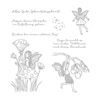 Einfach Zauberhaft Clear-Mount Stamp Set (German)
