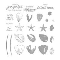 Fleurs En Tous Genres Photopolymer Stamp Set (French)