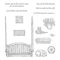 Stille Momente Photopolymer Stamp Set (German)