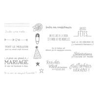 À Deux C'Est Mieux Clear-Mount Stamp Set (French)