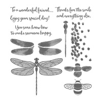 dragonfly stamp set