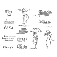women themed stamps
