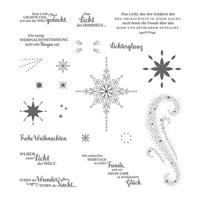 Weihnachtsstern Clear-Mount Stamp Set (German)
