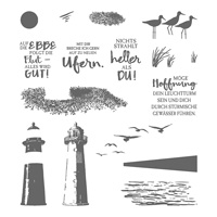 Durch Die Gezeiten Photopolymer Stamp Set (German)