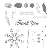 daisy flower stamps