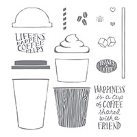 coffee cup stamps