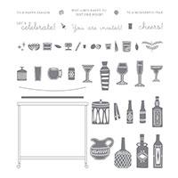 Beverage Bar Photopolymer Stamp Set