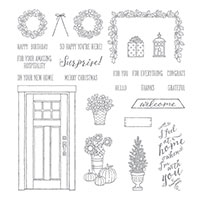 At Home with You Photopolymer Stamp Set