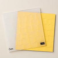 Ruffled Dynamic Textured Impressions Embossing Folder