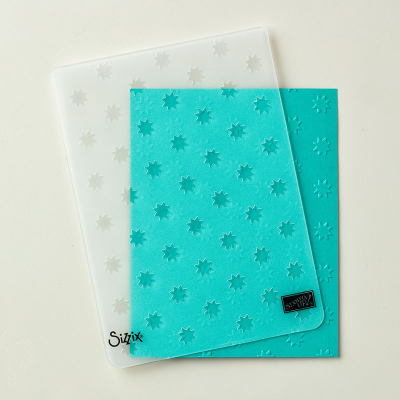Oh My Stars Embossing Folder