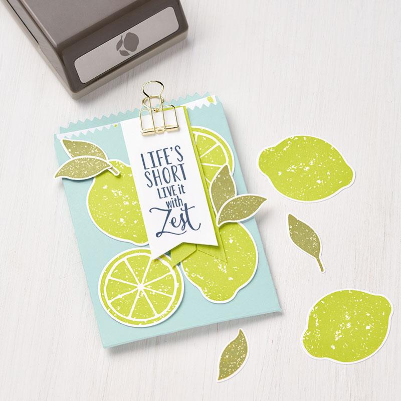 Lemon Zest Clear-Mount Stamp Set