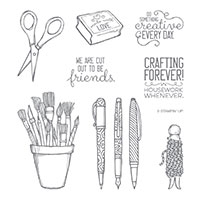crafting tools stamps