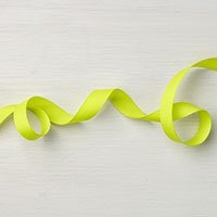 Lemon Lime Twist 1/2 Finely Woven Ribbon