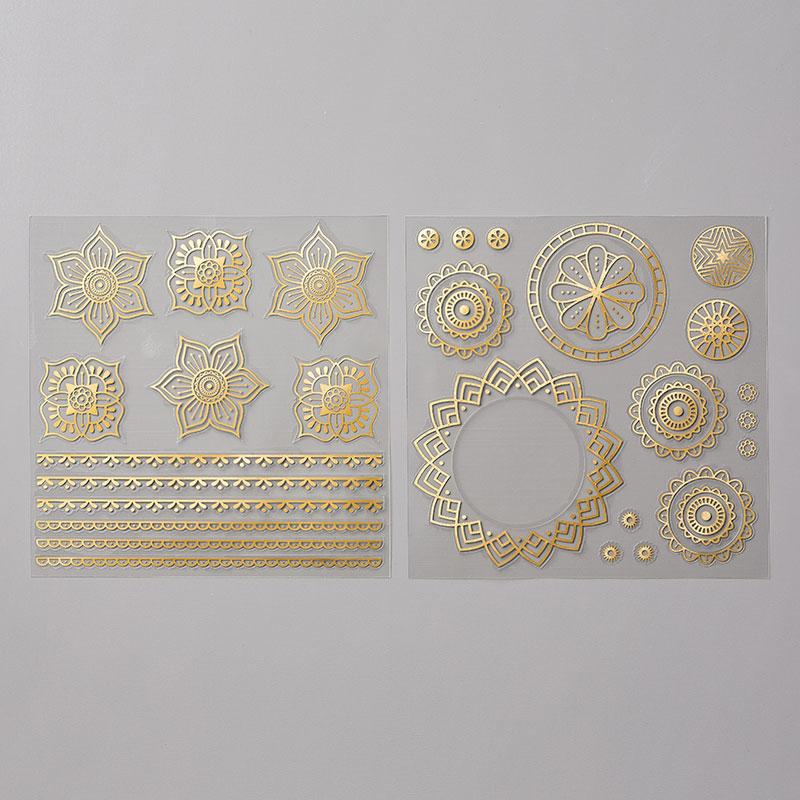 Eastern Gold Vinyl Stickers