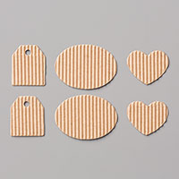 corrugated cardboard shapes