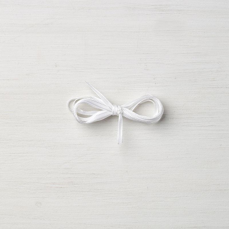 """Whisper White 1/8"""" Sheer Ribbon"""