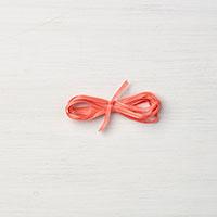 Calypso Coral 1/8 Sheer Ribbon