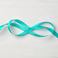 Bermuda Bay 3/8 Stitched Satin Ribbon