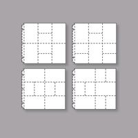Variety Pack 12 x 12 Photo Pocket Pages