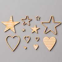 Hearts & Stars Elements