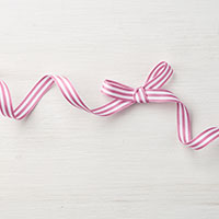 Sweet Sugarplum 3/8 Striped Grosgrain Ribbon