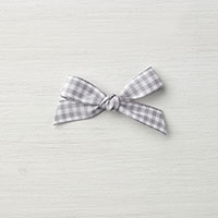 Smoky Slate 1/2 Gingham Ribbon