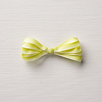 yellow ombre ribbon